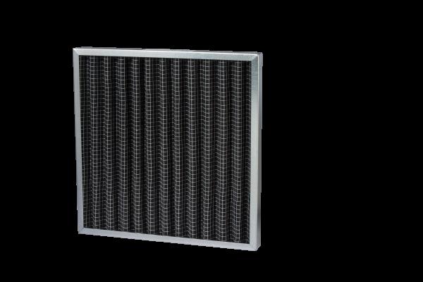 Disposable VForm Metal Frame Carbon Filter 1 - FAN2CA Series