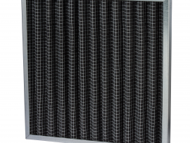 Disposable VForm Metal Frame Carbon Filter 1 - FAN2CA Series
